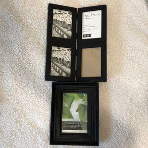 New frames - set of 3